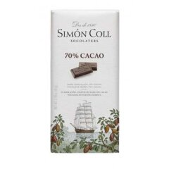Chocolates Simon Coll 70%